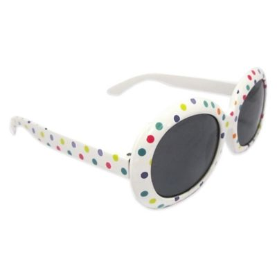 On The Verge Kids' Round Sunglasses