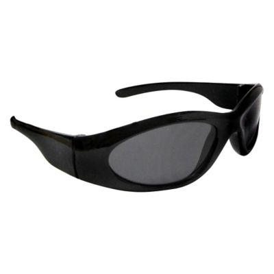 On The Verge Kids' Cat's Eye Sport Sunglasses in Black