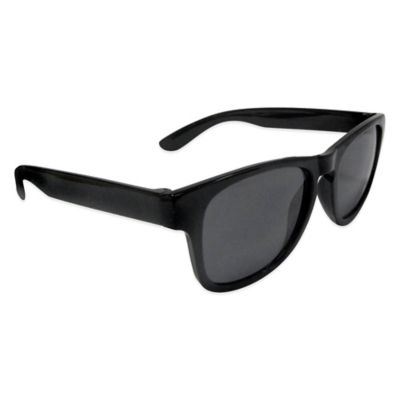 Kids' Wayfarer Sunglasses in Black