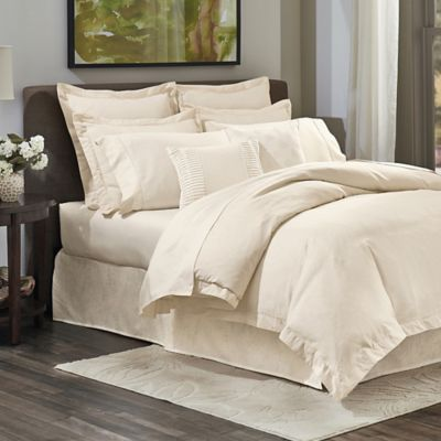 Crowning Touch Cotton Naturals 100% Cotton Jacquard Full/Queen Duvet Cover