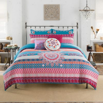 Anthology™ Amsterdam Reversible Full/Queen Comforter Set