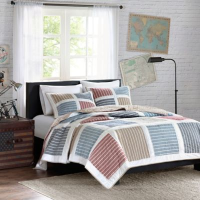 Ink + Ivy Dylan Twin Quilt Set