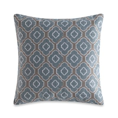Chain Stitch Square Throw Pillow Throw Pillows