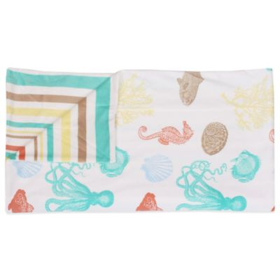 Jaco Sea Creatures Reversible Throw in Multi