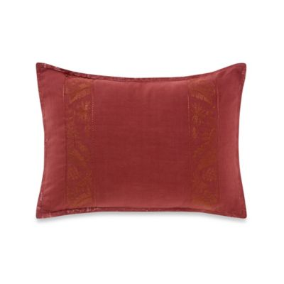 Tommy Bahama® Vera Cruz Oblong Throw Pillow in Maroon