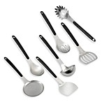 Calphalon® Stainless Steel Utensils with Grip Anywhere Handles