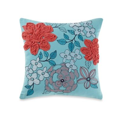 Anthology™ Palisades Flower Square Throw Pillow