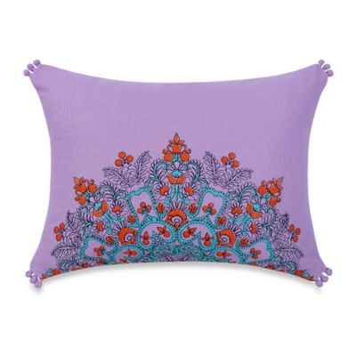 Anthology™ Amsterdam Embroidered Oblong Throw Pillow