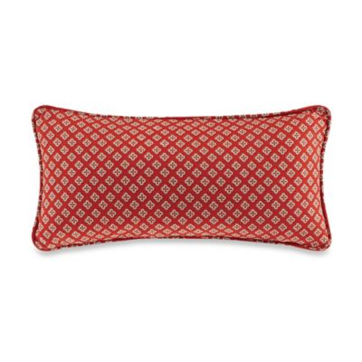 Echo Design Red Oblong Pillow