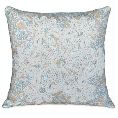 Nostalgia Home™ French Chain Reversible Square Throw Pillow