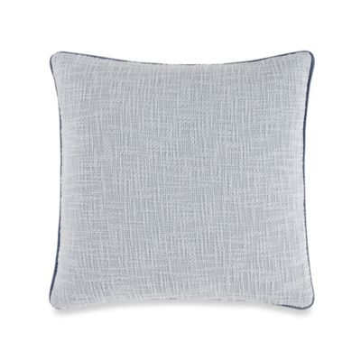 Barbara Barry Blue Square Pillow