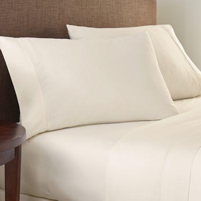 Crowning Touch Cotton Naturals 100% Cotton Solid Queen Sheet Set