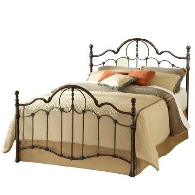 Hillsdale Venetian King Bed in Old Bronze