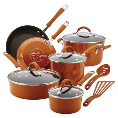Orange Rachael Ray Cookware Set