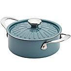 Rachael Ray™  Cucina 2.5 qt. Hard Enamel Covered Casserole in Blue