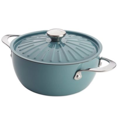 Blue Covered Casserole