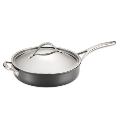Anolon® Nouvelle 5 qt. Copper Covered Sauté Pan with Helper Handle