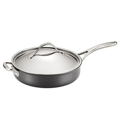 Buy Anolon Nouvelle 5 Qt Copper Covered Saut Pan With