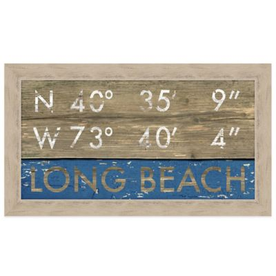 Long Beach Framed Art