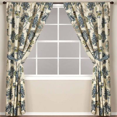 World Market® Tatiana Lined Rod Pocket 63-Inch Window Curtain Panel in Natural