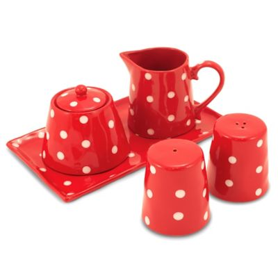 Maxwell & Williams™ Sprinkle Collection 5-Piece Accessory Set in Red