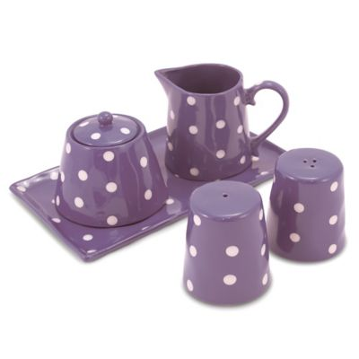 Maxwell & Williams™ Sprinkle Collection 5-Piece Accessory Set in Purple