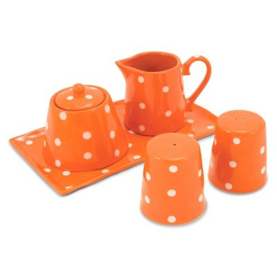 Maxwell & Williams™ Sprinkle Collection 5-Piece Accessory Set in Orange