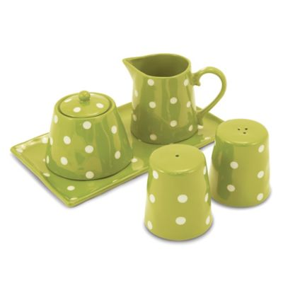 Maxwell & Williams™ Sprinkle Collection 5-Piece Accessory Set in Lime