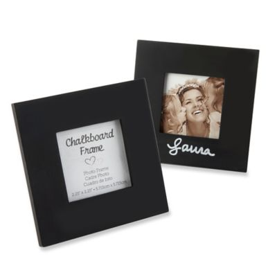 Black Wedding Photo Frames