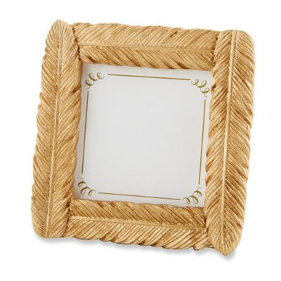 Kate Aspen® Gold Feather Frame