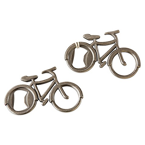 buy kate aspen let 39 s go on an adventure bicycle bottle opener from bed bath beyond. Black Bedroom Furniture Sets. Home Design Ideas