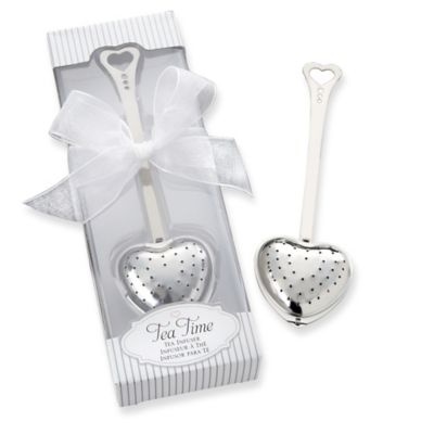 "Kate Aspen® ""Tea Time"" Heart Tea Infuser"