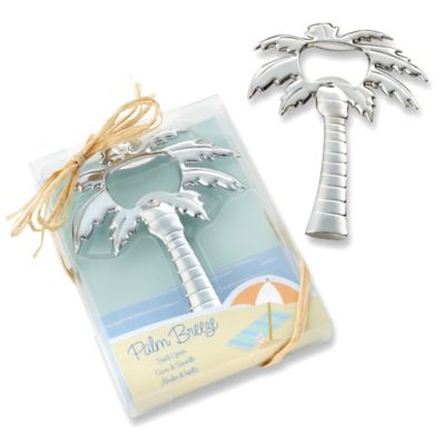 "Kate Aspen® ""Palm Breeze"" Palm Tree Bottle Opener"