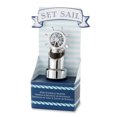 "Kate Aspen® ""Set Sail"" Ship Wheel Pourer"
