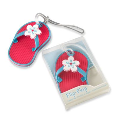 Kate Aspen® Flip-Flop Beach-Themed Luggage Tag