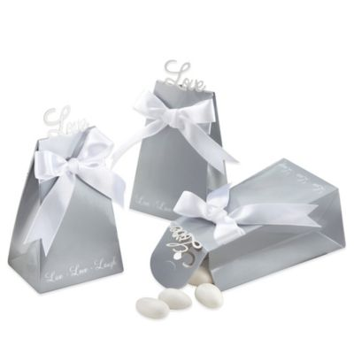Kate Aspen® Express Your Love Elegant Favor Boxes (Set of 24)