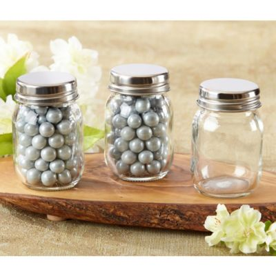 Kate Aspen® Mini Glass Mason Jars (Set of 12)