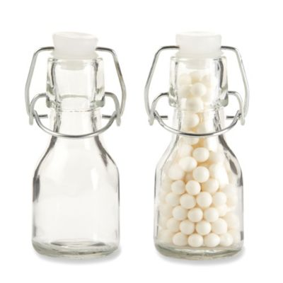 Kate Aspen® Swing-Top Mini Glass Favor Bottle (Set of 12)