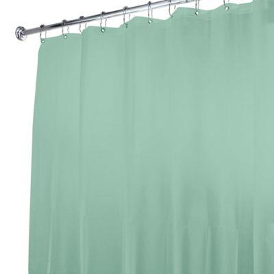 5-Gauge Shower Curtain Liner in Sage