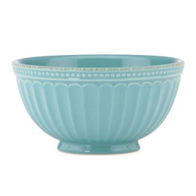Lenox® French Perle Groove All Purpose Bowl in Robins Egg