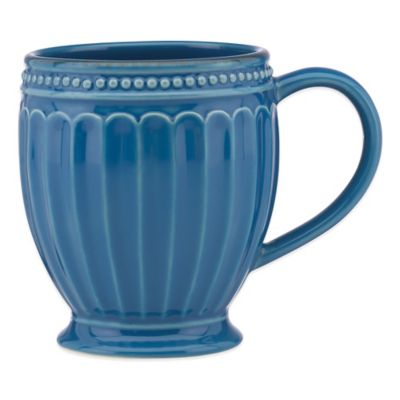 Lenox® French Perle™ Groove Mug in Marine Blue