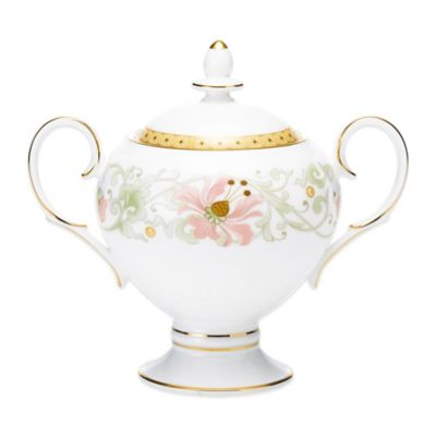 Noritake® Blooming Splendor Covered Sugar Bowl