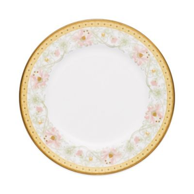 Noritake® Blooming Splendor Bread and Butter Plate