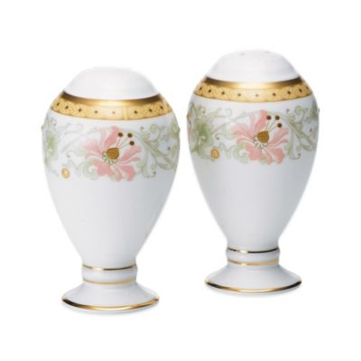 Noritake® Blooming Splendor Salt and Pepper Shakers