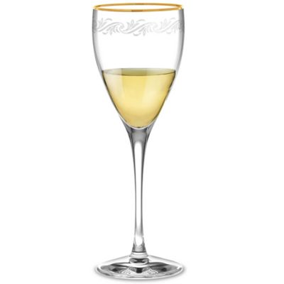 Clear Gold Goblets