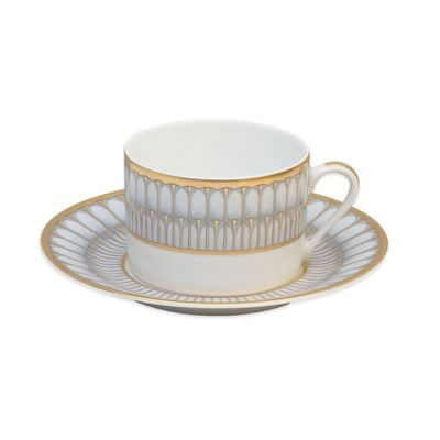 Philippe Deshoulieres Arcades Tea Saucer in Grey