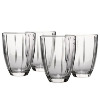 Set of 4 Clear Tumbler