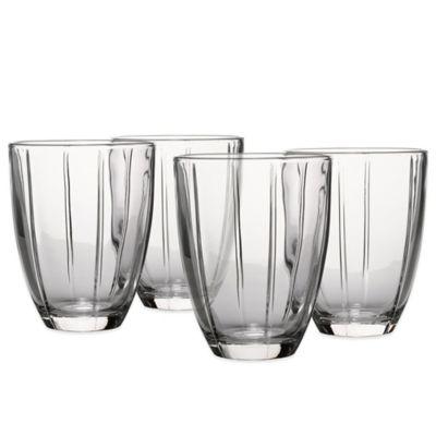 Noritake® Colorwave Glassware Tumblers in Clear (Set of 4)