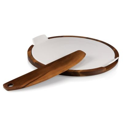 Heritage Collection by Fabio Viviani Margherita Pizza Server and Stone with Pizza Tool