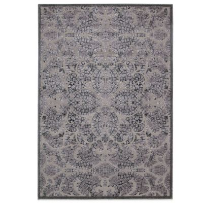 Nourison Graphic Illusions GIL05 7-Foot 9-Inch x 10-Foot 10-Inch Area Rug in Grey